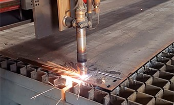 Plates cut and drill
